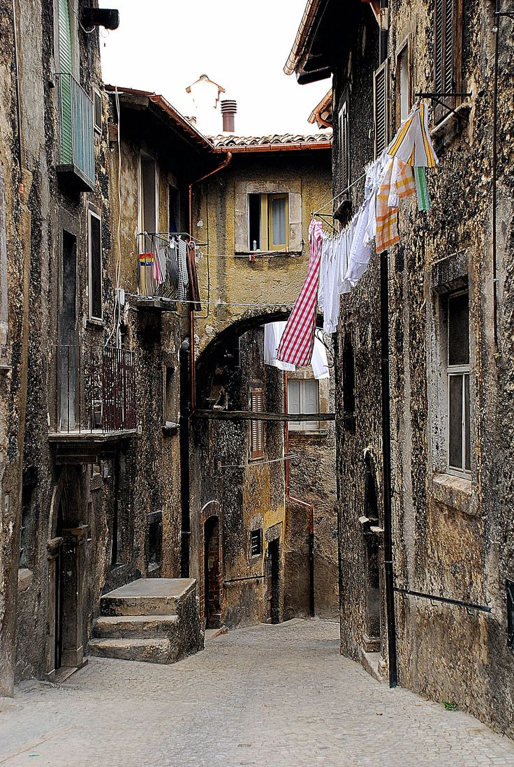 Scanno, Abruzzo. I took a picture of this exact spot when I visited!