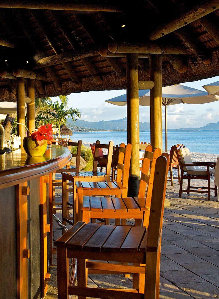 La Pirogue hotel beach bar ! Mauritius Island #IleMaurice