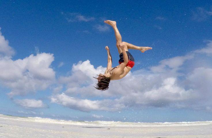 a day at the beach, Diani beach, Kenya