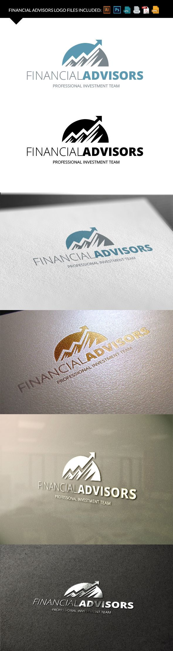 Your logo has to be professional and serious? So you need a template like this #design #logo #template