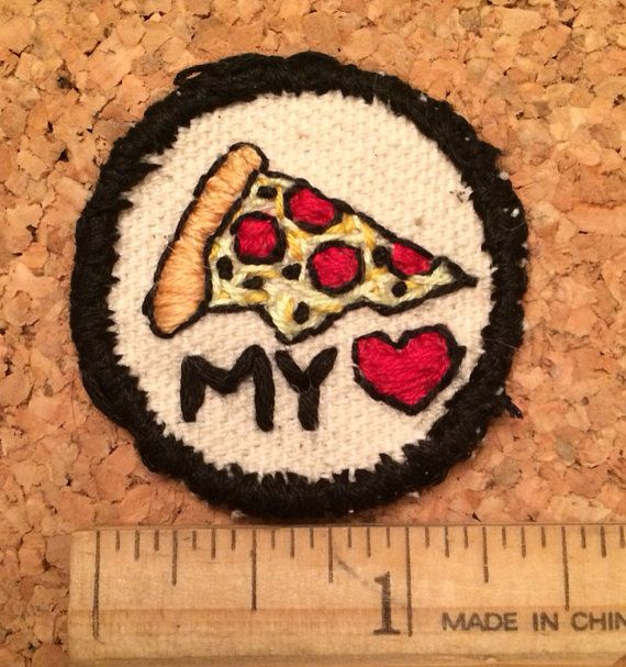 PATCH Take Another Little Pizza My Heart by KatMeowCrafts on Etsy, $12.00