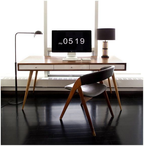 Prachtig! - Jeremiah Collection Mid Century Desk With door jeremiahcollection, $1490.00