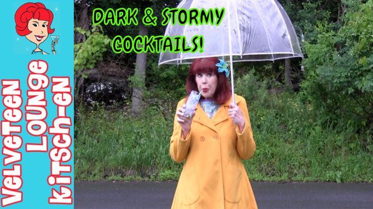 Dark & Stormy Cocktail Recipe Plus an Easy Dark & Stormy Appetizer!