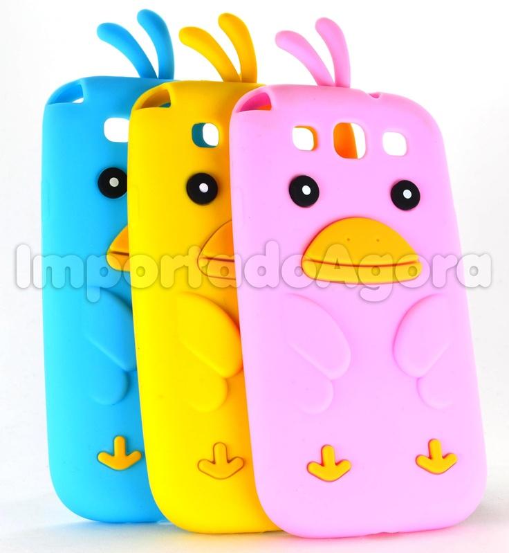 Capa Silicone 3D - Little Duck para Samsung Galaxy S3 i9300 - Para mais informações clique na imagem :)