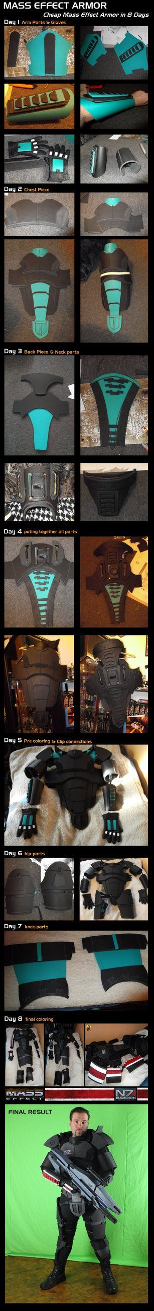 Mass Effect Armor Step by Step Construction by Euderion on DeviantArt