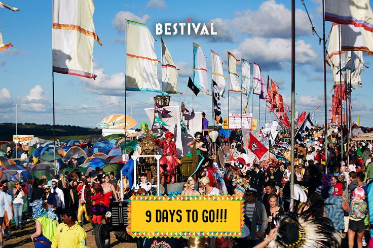 9 Days To Go until our very own Desert Island Disco Carnival begins!