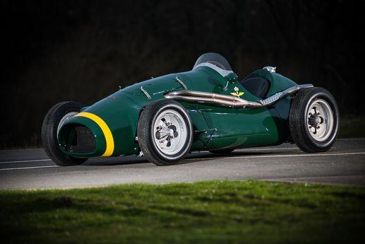 1953 Connaught AL10 grand prix racer
