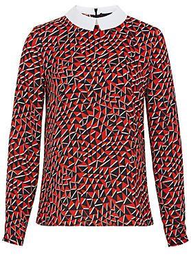 Hallhuber Bluse mit Grafik-Print im Universal Online Shop