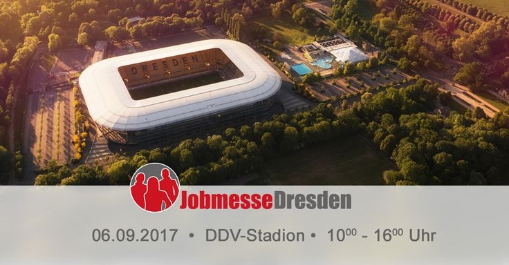 Alle Wege zu deiner neuen Karriere. Du hast Fragen zu Jobs, Aus- & Weiterbildungen? Komm auf die Jobmesse Dresden am 06.09.2017 im DDV-Stadion.