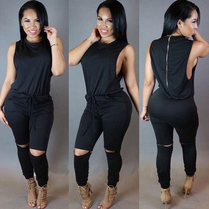 エレガントなスタイル2016夏ブラックホワイトスーツ女性ノースリーブカジュアルスーツ女性全身服セット