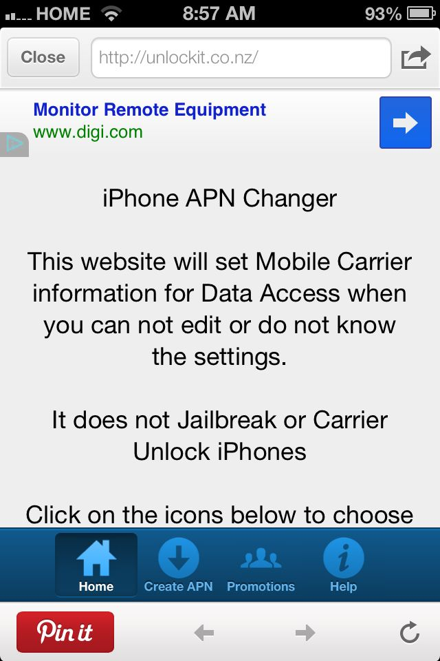 Use this website to create an APN (Access Point Name) to access data on your phone. If you switched to a pre-paid carrier because its cheaper you may be having trouble getting your phone unlocked. This website is free and will create an APN for any phone, and you will be able to use the data purchased on your airtime card, without dealing with your carrier to unlock your phone. If you reset your phone settings you will have to create the APN again using this website. Also works iPhone.