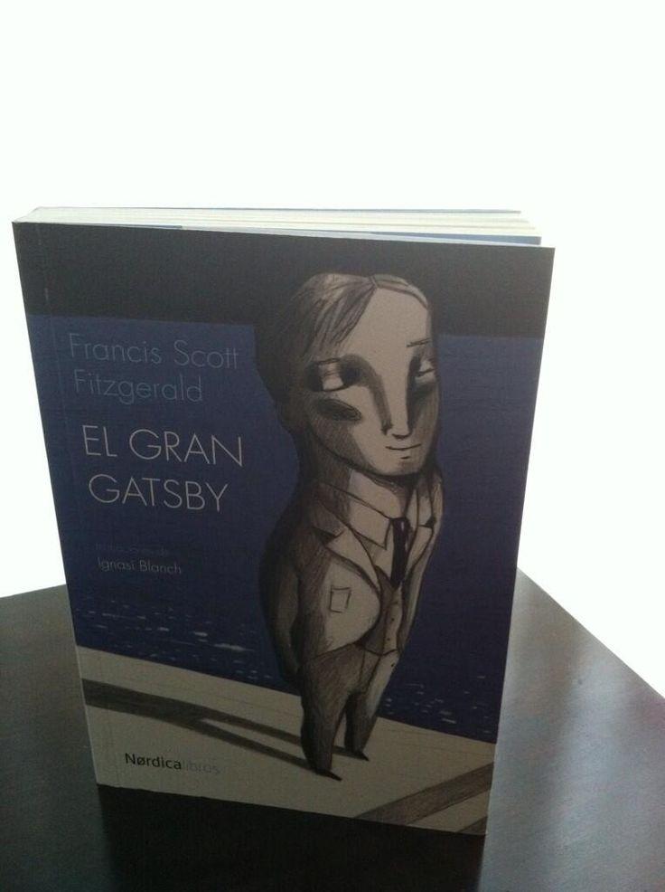 @Inma López añade a sus #VacacionesLectoras esta edición preciosa de El gran Gatsby en Nórdica.