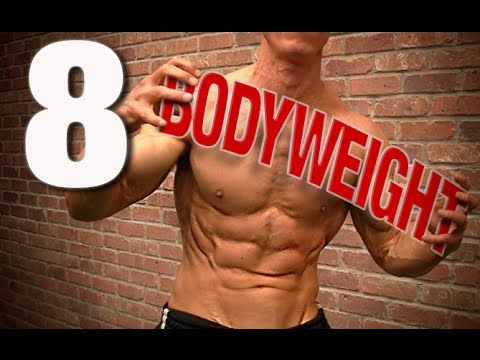 The Best Bodyweight Exercises For All Over Toning - Videos - The Cycling Bug