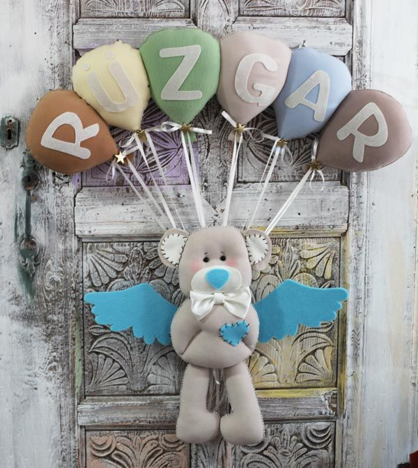 meleginel, baby sugar, hospital room decorations, baby design, baby room door decorations, name banner