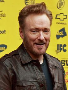O'Brien at SXSW for the premiere of Conan O'Brien Can't Stop in March 2011