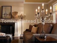 Lampa stołowa ANORA kol. BRĄZ,CIEMNY ORZECH (FE/ANORA TL) - Feiss - Elstead Lighting