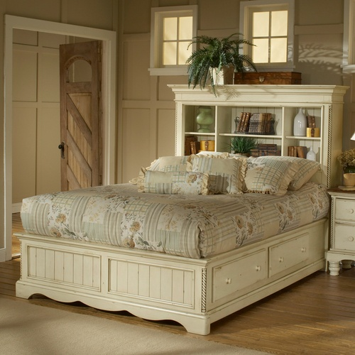 Wilshire Bookcase Storage Bed by Hillsdale $959