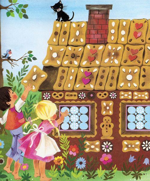 'Hansel and Gretel' by Gisela Gottschlich [Pestalozzi Verlag]