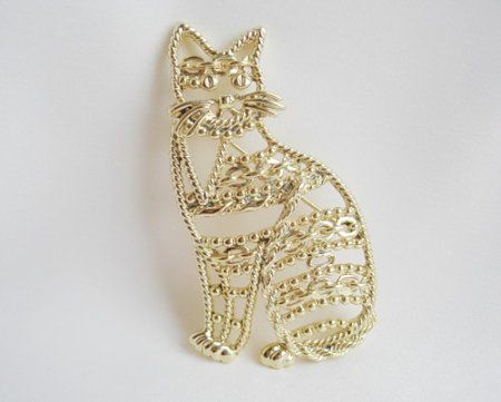 Ювелирные изделия на тему кошек.