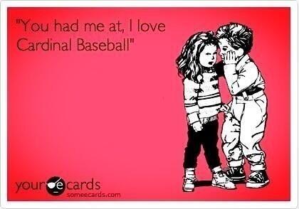 Cardinal baseball!