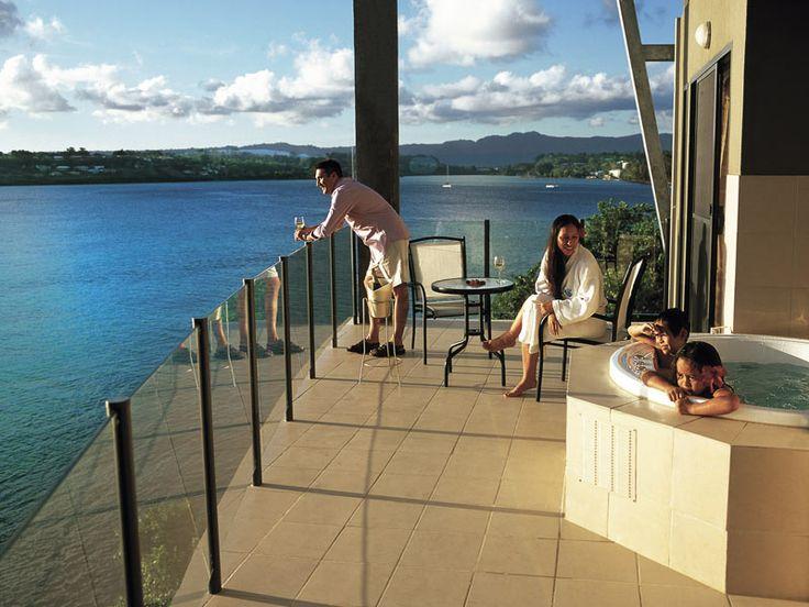 Family getaway at Iririki Island Resort, Vanuatu  www.islandescapes.com.au