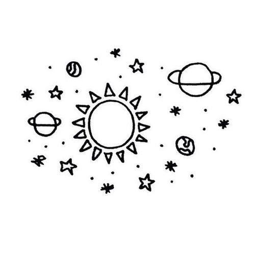 планета, планеты, солнце, прозрачное, Tumblr