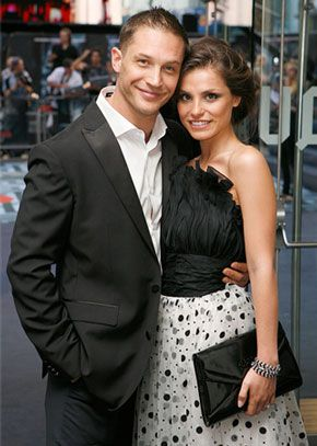Tom Hardy + Charlotte Riley, husband + wife & co-stars of Wuthering Heights (2009 - BBC Masterpiece Theatre - Heathcliffe + Catherine) ♥