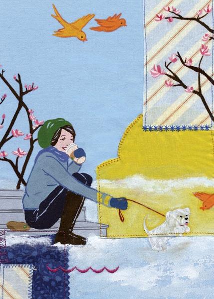 Datebook : Caroline Hwang Illustration...one of my favorite illustrators.