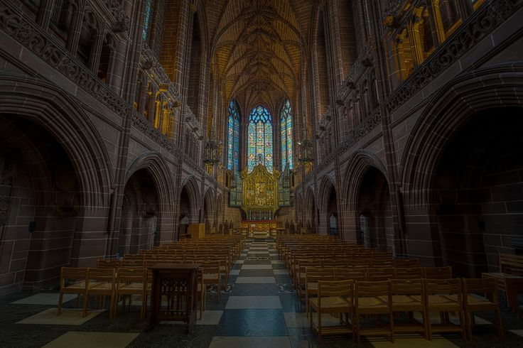 Liverpool Anglican Cathedral Lady Chapel England [OC][8683x5788]