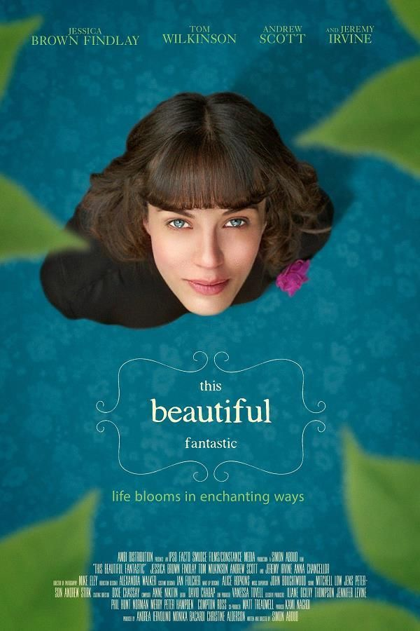 This Beautiful Fantastic    Support: BluRay 1080    Directeurs: Simon Aboud    Année: 2016 - Genre: Comédie / Drame / Fantastique / Romance - Durée: 100 m.    Pays: United Kingdom / United States of America - Langues: Français, Anglais    Acteurs: Jessica Brown Findlay, Andrew Scott, Jeremy Irvine, Tom Wilkinson, Anna Chancellor, Sheila Hancock, Eileen Davies