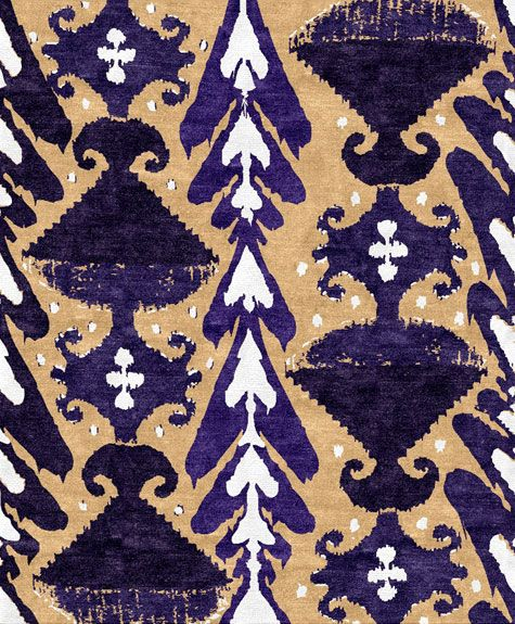 Ikat Heart Rug From Custom Cool Rugs. On The Website, You Choose Your Design