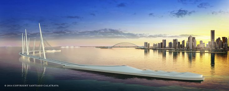 Sharq Crossing / Doha (Gallery) - Santiago Calatrava – Architects & Engineers