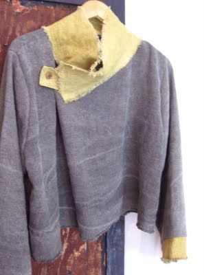 Hand made Linen top by Corey&Co. Portland ME. She sources out wonderful natural fabrics and dyes many of them as well. Designer, maker, shop owner and blogger. Her shop features many European designers and artisans from the US.