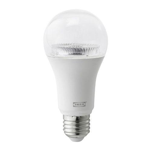 IKEA - TRÅDFRI, LED-Lampe E27 950 lm, , Mit einem IKEA Home Smart LED-Leuchtmittel lässt sich die Beleuchtung einfach der jeweiligen Aktivität anpassen - z. B. sanfte Beleuchtung für romantische Abendessen und stärkeres, kaltes Licht zum Arbeiten.Mit der TRÅDFRI Fernbedienung können bis zu 10 LED-Leuchtquellen, LED-Lichtpaneele oder LED-Leuchttüren angeschlossen und gesteuert werden - gleichzeitiges Dimmen, Ein-/Ausschalten und Wechsel von warmem zu kaltem Licht in 3 Stufen.Durch Ergänzu...