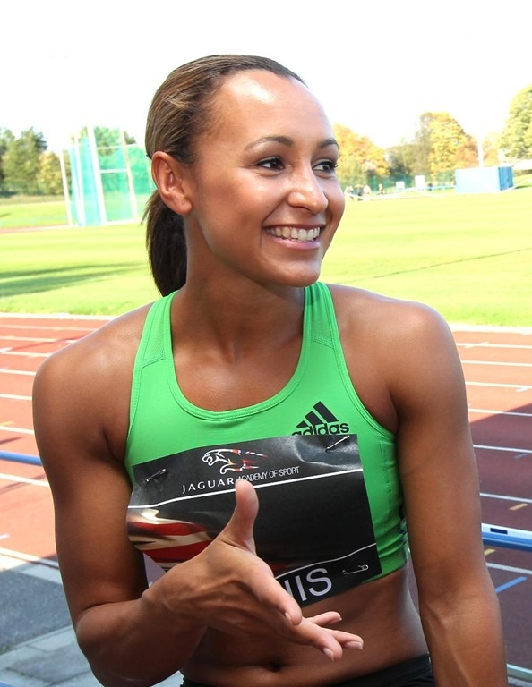 Jennifer Ennis, British, Track & Field Athlete   Born in Sheffield, Ennis is one of two daughters born to Vinnie Ennis & Alison Powell. Her father, originally from Jamaica, is a self-employed painter and decorator; her mother, a social worker, was born in Derbyshire.