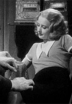 Barbara Stanwyck giving them whatfor in 'Babyface' http://37.media.tumblr.com/0bab0fae04e0789e28be54c1cfd5b4e4/tumblr_mi2s26zVGX1qbgyx2o2_250.gif