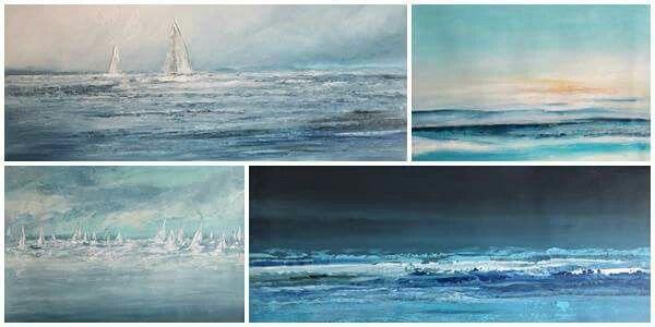 Oil paintings, obrazy olejne Sylwia Michalska, marynistyka, marina, malarstwo Sylwia Michalska