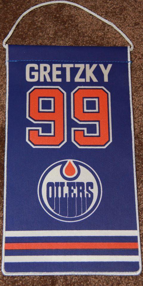 Wayne Gretzky Edmonton Oilers Retirement Banner