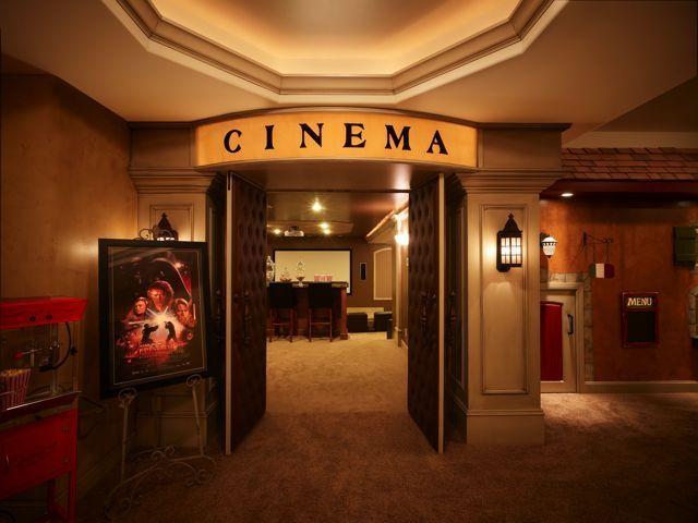 Home Cinema Saba Design 08 Part - 17: Home Theater Entrance
