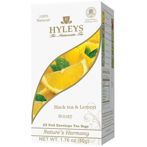 Nature's Harmony – Black Tea and Lemon – Bags