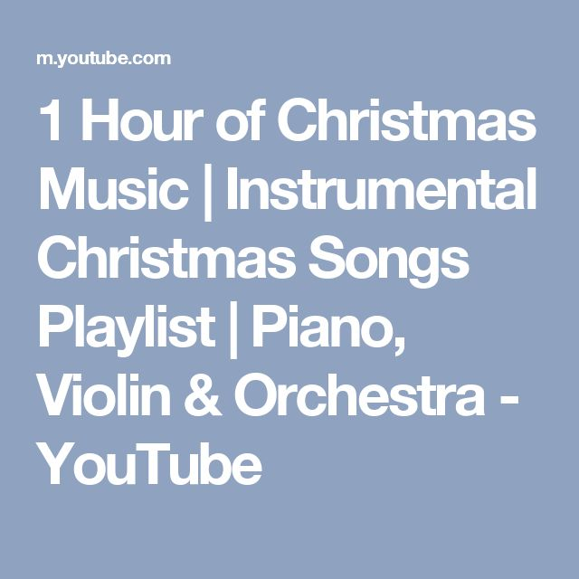 Best 25+ Instrumental christmas music ideas on Pinterest   Kids ...