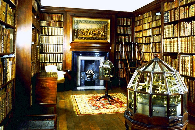 Greater Manchester Library Dunham Massey NT S71 by ewart_white, via Flickr