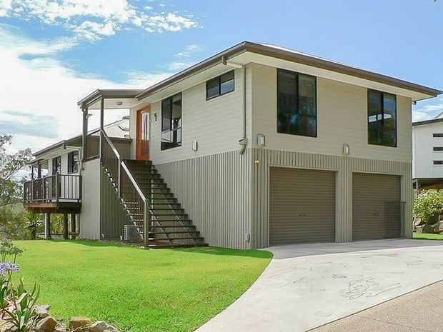 Cooran Split Level House With Garage Storage Underneath Built In Buderim Queensland Tru Built