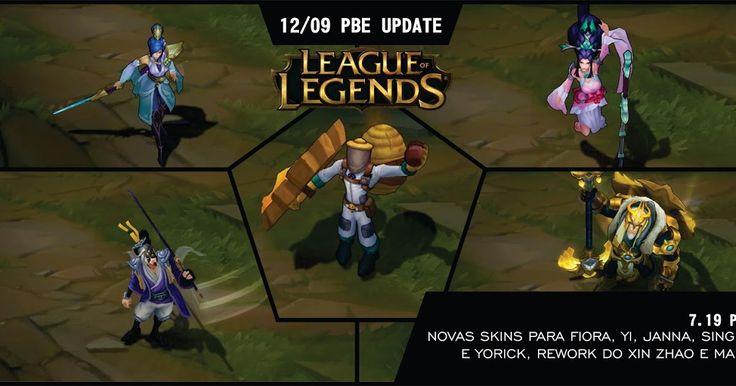 Atualização 12/09 PBE: Novas skins para Fiora Master Yi Janna Singed e Yorick Rework do Xin Zhao e mais! https://pink-ward.blogspot.com.br/2017/09/atualizacao-1209-pbe-novas-skins-para.html #games #LeagueOfLegends #esports #lol #riot #Worlds #gaming