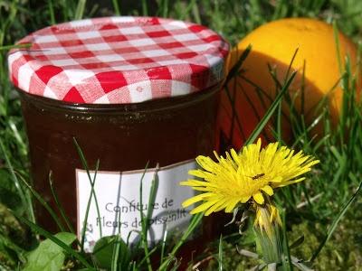 Expériences Gourmandes: Confiture de Fleurs de Pissenlit