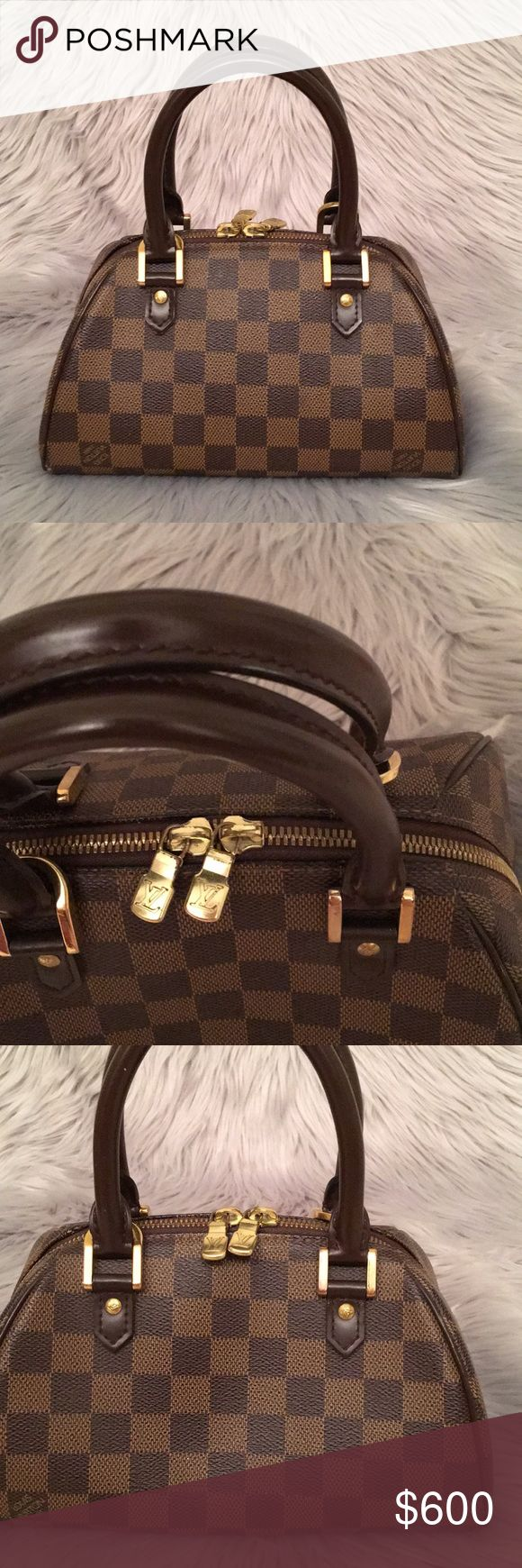 Louis Vuitton Ribera small Louis Vuitton Ribera small in great condition. Very minor flaws as pictured. Offers accepted! 9x6 x5 Louis Vuitton Bags