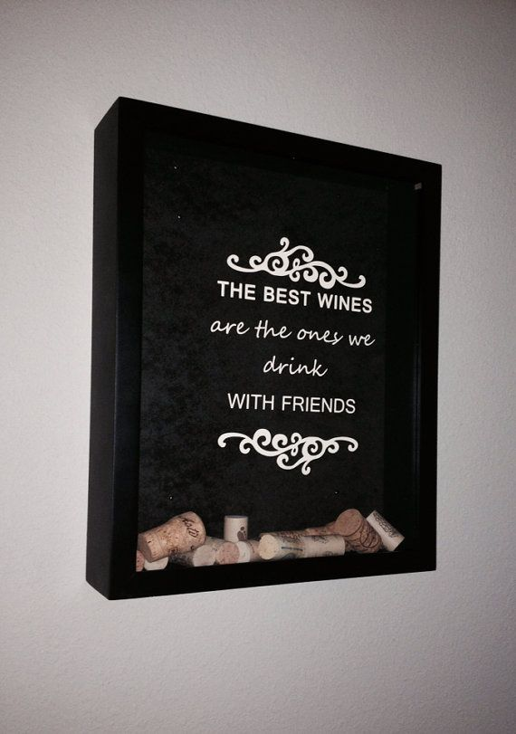 Personalized Wine Cork Holder