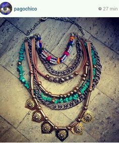 collares de mechi garay - Buscar con Google