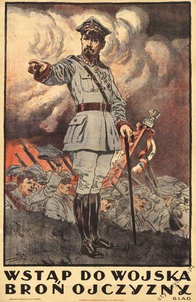 1920 Bitwa Warszawska PLAKAT Generał Józef Haller (5282212629) - Allegro.pl…