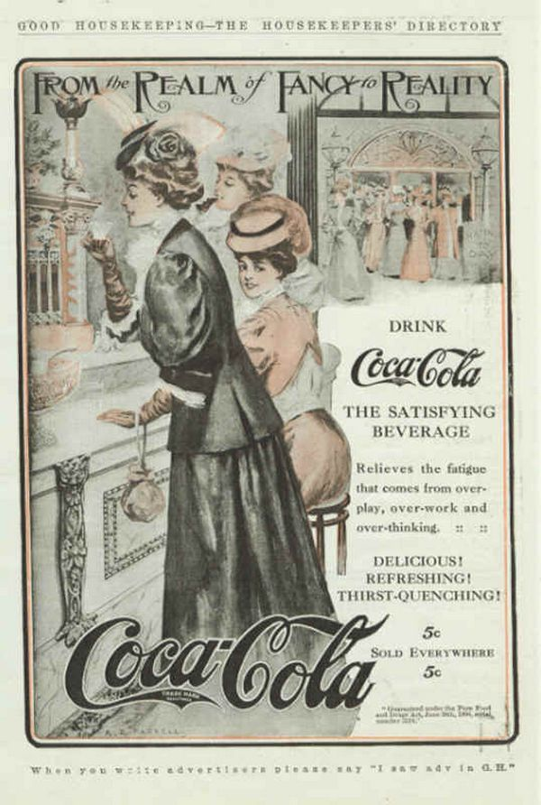 Vintage Coca Cola advertisment